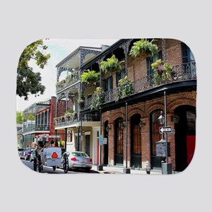French Quarter Street Burp Cloth