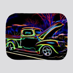 1940 Ford Pick up Truck Neon Burp Cloth