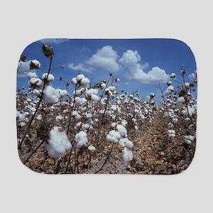 Cotton Field Burp Cloth