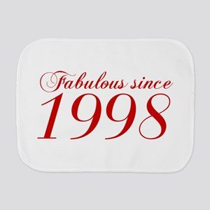 Fabulous since 1998-Cho Bod red2 300 Burp Cloth