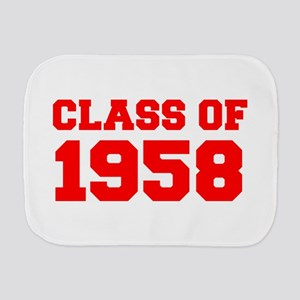 CLASS OF 1958-Fre red 300 Burp Cloth