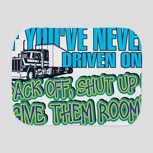 Trucker Back Off Burp Cloth