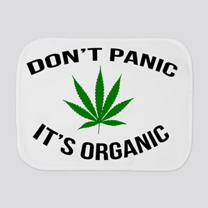 Don't Panic It's Organic Burp Cloth