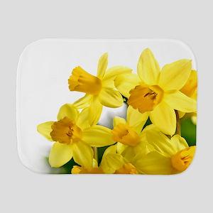 Daffodils Style Burp Cloth