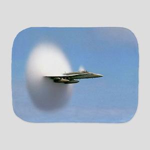 F/A 18 Sonic Boom Burp Cloth