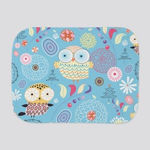 Cute Owls Burp Cloth
