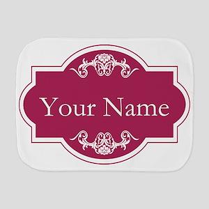 Add Your Name Burp Cloth