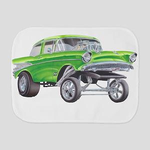 57 Green Gasser  Burp Cloth