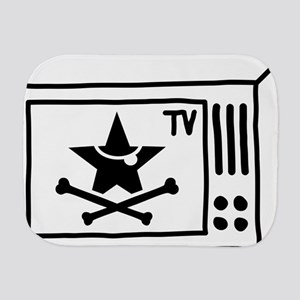 Pirate TV Burp Cloth