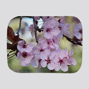 Cherry blossoms in spring time Burp Cloth