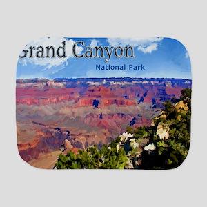 Grand Canyon NAtional Park Poster Burp Cloth