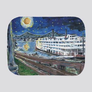 Mississippi Riverboat Burp Cloth