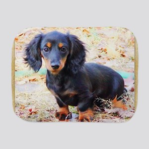 Puppy Love Doxie Burp Cloth