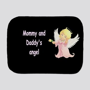 MOMMY AND DADDY'S ANGEL Burp Cloth