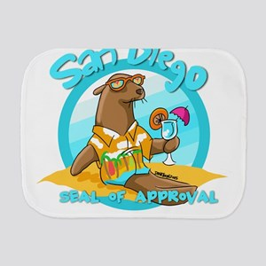 San Diego Seal of Approval Burp Cloth