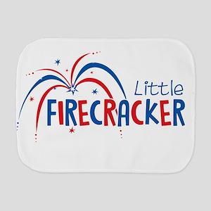 Little Firecracker Burp Cloth