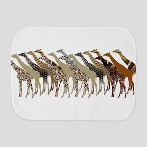 Lots of Giraffes Design 3 Burp Cloth