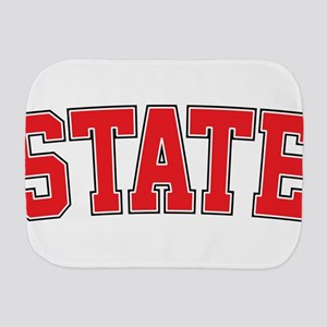 State - Jersey Burp Cloth