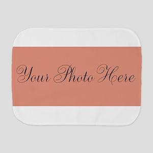 Your Photo Here Burp Cloth