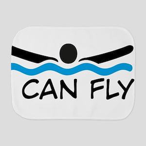 I can fly Burp Cloth