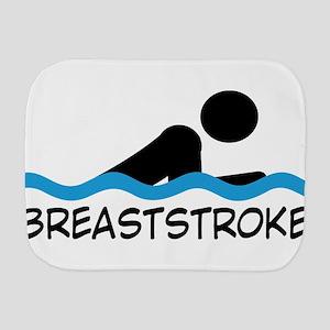 breaststroke Burp Cloth