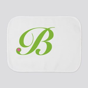 B Burp Cloth
