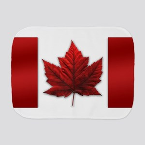 Canada Flag Souvenirs Canadian Maple Le Burp Cloth
