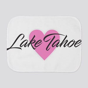 I Heart Lake Tahoe Burp Cloth