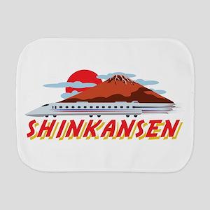 Shinkansen Burp Cloth