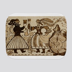 The Robber and his Bride, Hungarian fol Burp Cloth