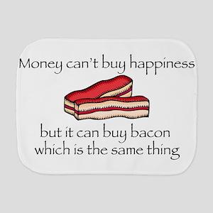 Bacon Money Burp Cloth