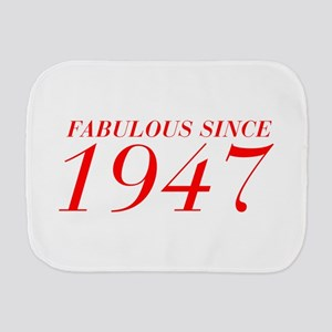 FABULOUS SINCE 1947-Bod red 300 Burp Cloth