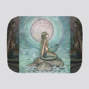 The Pastel Sea Fantasy Art Burp Cloth