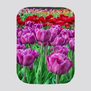 Tulip Field Burp Cloth