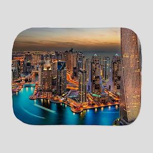 Dubai Skyline Burp Cloth