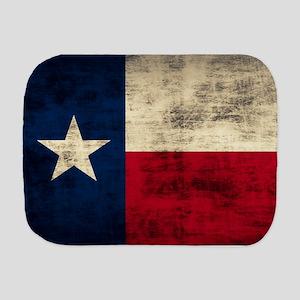 Texas Flag Burp Cloth