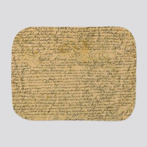 Old Manuscript Burp Cloth
