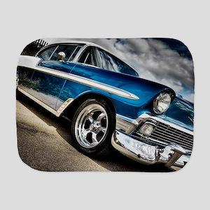 Retro car Burp Cloth