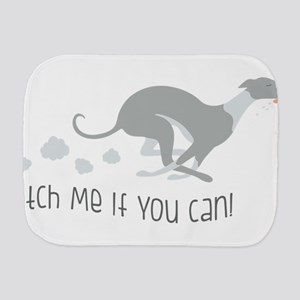 Catch Me If You Can! Burp Cloth