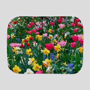 Flower Garden Burp Cloth