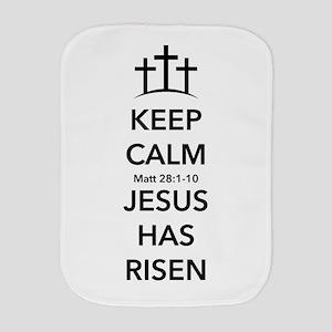 Risen Jesus Burp Cloth