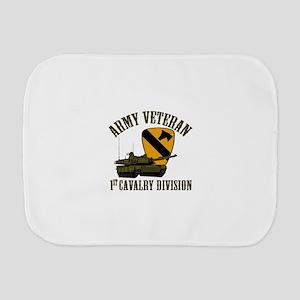 1ST Cavalry Division Veteran Burp Cloth