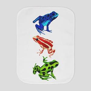 Dart Frogs Burp Cloth