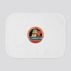 Hiawatha engine design Burp Cloth