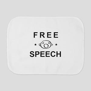 FREE SPEECH Burp Cloth
