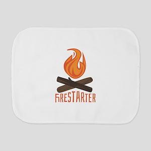 Firestarter Campfire Burp Cloth