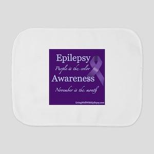 Epilepsy Awareness Burp Cloth