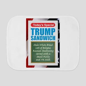 Trump Sandwich Burp Cloth