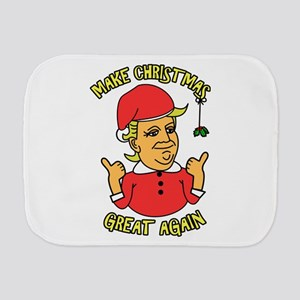Make Christmas Great Again Burp Cloth