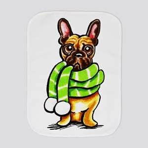 Frenchie Scarf Burp Cloth